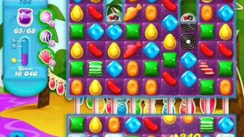 Candy Crush Soda Saga Level 706 (nerfed, 3 Stars)