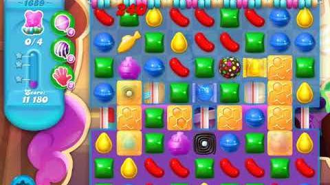 Candy Crush Soda Saga Level 1689 (4th version)