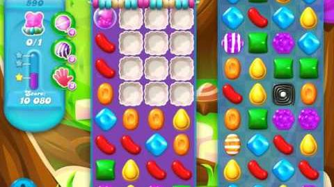 Candy Crush Soda Saga Level 590 (5th version, 3 Stars)