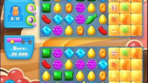 Candy Crush Soda Saga Level 96 (5th version, 3 Stars)