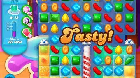 Candy Crush Soda Saga Level 1119 (8th version)