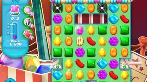 Candy Crush Soda Saga Level 1156 (4th version, 3 Stars)