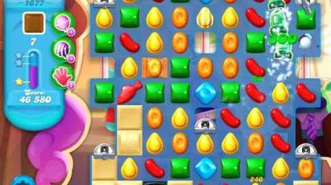 Candy Crush Soda Saga Level 1677 (3 Stars)