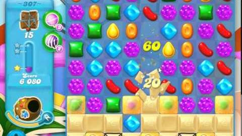 Candy Crush Soda Saga Level 307 (3 Stars)
