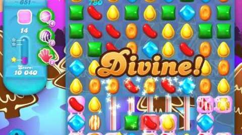 Candy Crush Soda Saga Level 651 (buffed, 3 Stars)