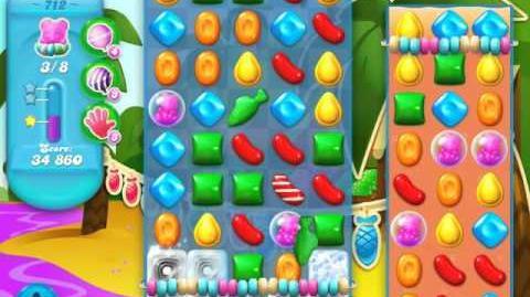 Candy Crush Soda Saga Level 712 (3 Stars)