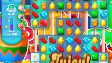 Candy Crush Soda Saga Level 854 (buffed)