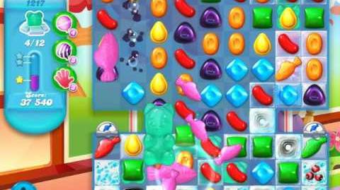 Candy Crush Soda Saga Level 1217 (6th version)