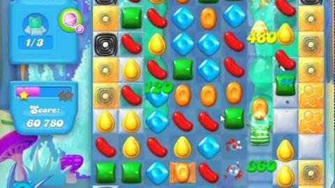 Candy Crush Soda Saga Level 145 (3 layers)