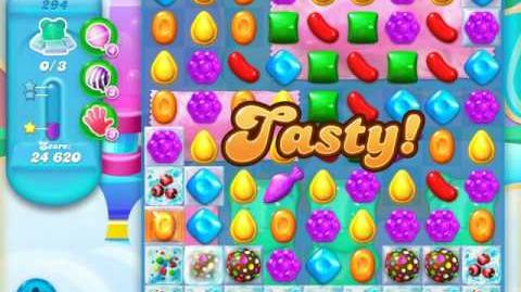 Candy Crush Soda Saga Level 294 (7th version, 3 Stars)