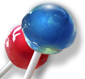 Red-and-blue-suckers