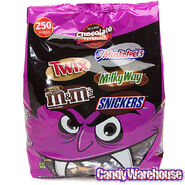 M&M-Mars; Halloween Chocolate Candy Assortment 250-Piece Bag