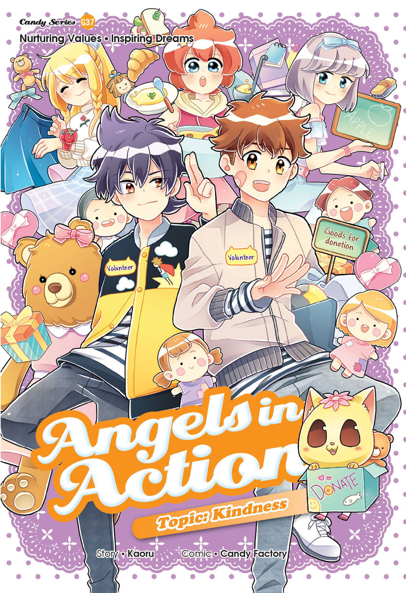 Angels In Action Kindness Candy Meow Series Wikia