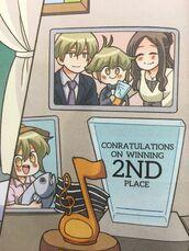 Mikael's family portrait