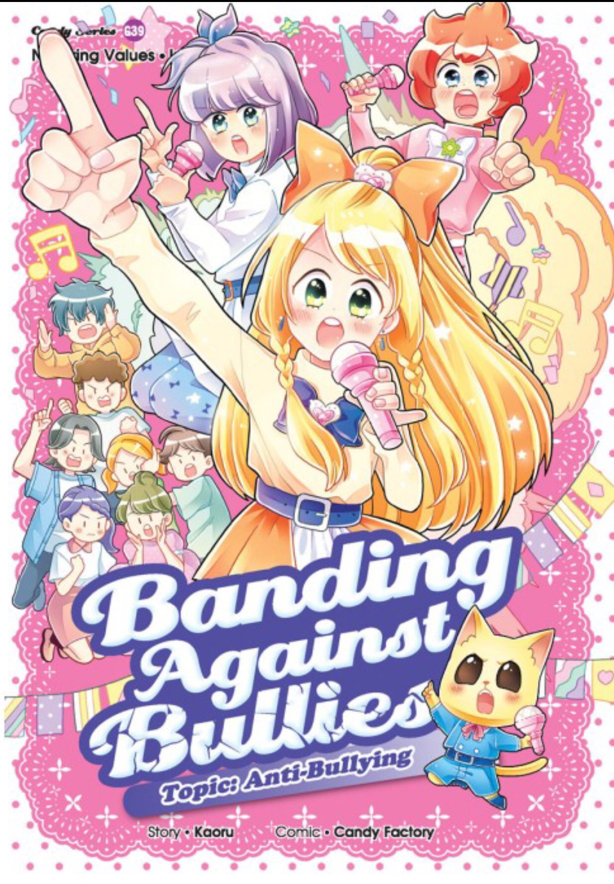 Banding Against Bullies Anti Bullying Candy Meow Series