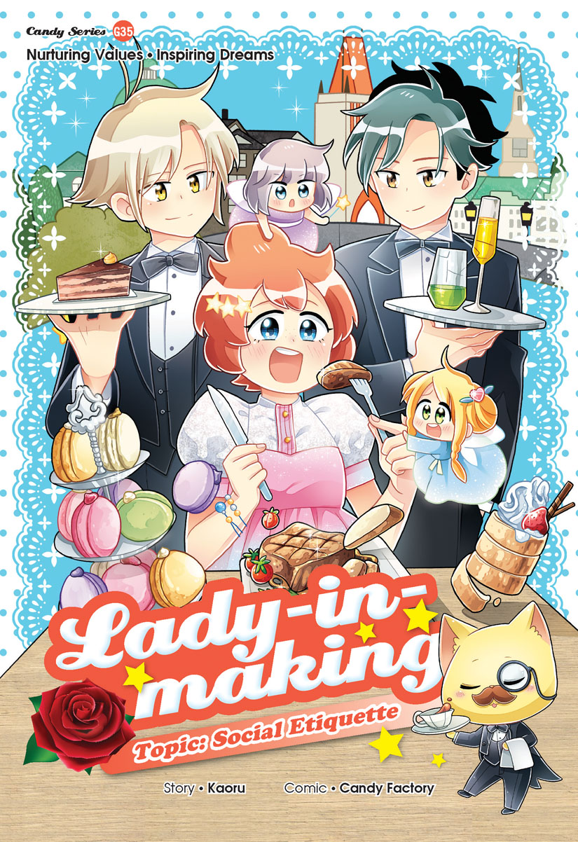 Lady In Making Social Etiquette Candy Meow Series Wikia