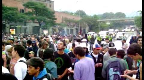 Marcha Mundial por la Marihuana Medellin 2009