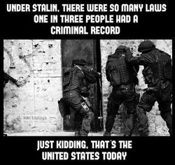 1 in 3 adult Americans have been arrested