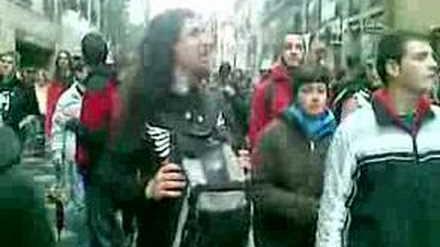 Marcha Mundial por la Marihuana en Madrid 2008