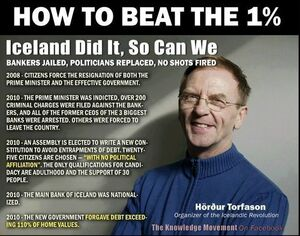 Iceland. How to beat the 1%