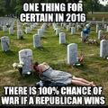 100% chance of war if Republican wins.jpg