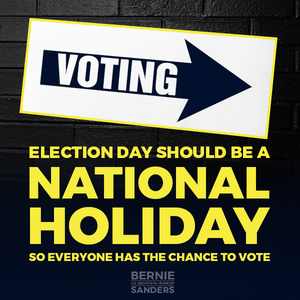 Election day should be a national holiday