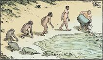 Darwinian evolution turning into US Republican politician evolution
