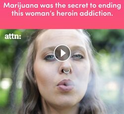 Marijuana was the secret to ending this woman's heroin addiction