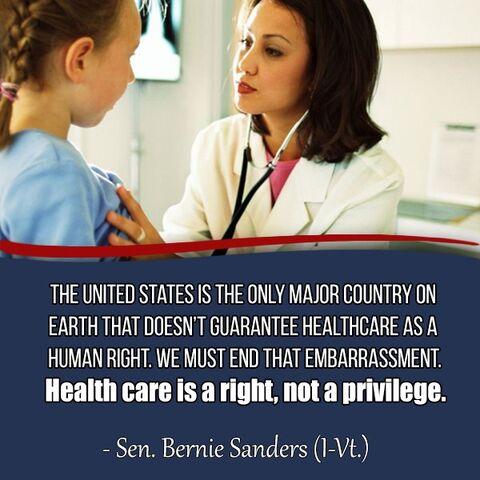 File:Bernie Sanders on US healthcare versus world.jpg