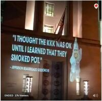 Jeff Sessions KKK was OK until I learned they smoked pot