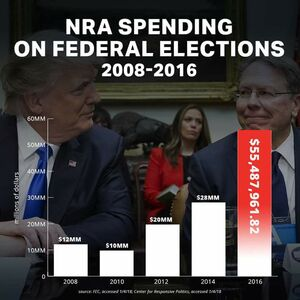 NRA spending on federal elections