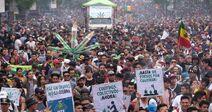 Mexico City 2019 May 4 Mexico crowd 4