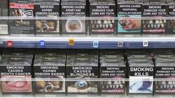 Cigarette box warnings in Australia