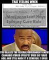 Marijuana leaf plays epilepsy cure role. Salt Lake City Telegram, May 20, 1949..jpg