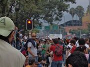 Medellin 2012 May 5 Colombia crowd 2