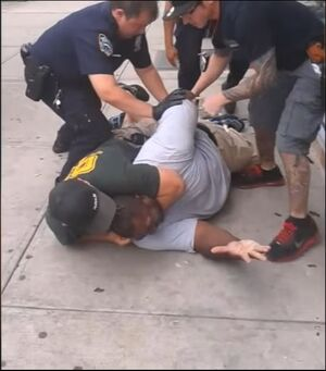 Eric Garner. I can't breathe. July 17, 2014
