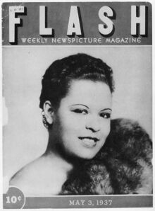 Billie Holiday 1937 Flash magazine