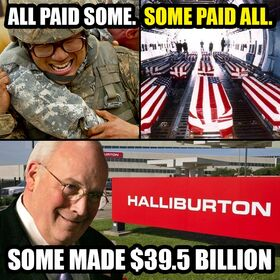 Cheney and Halliburton