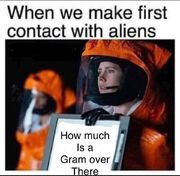 When we make first contact with aliens