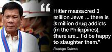 Duterte 3 million Jews 2