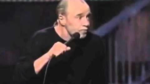 George Carlin on wars on brown people