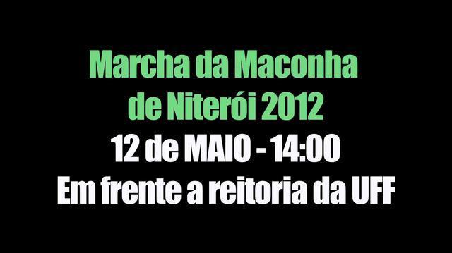 Marcha da maconha de Niterói 2012