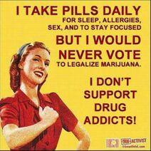 I take pills daily