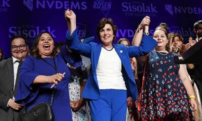 Nevada 2018. First US state with majority-female legislature