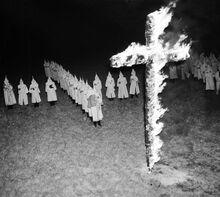KKK's racist holy war