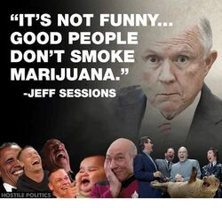 Good people don't smoke marijuana