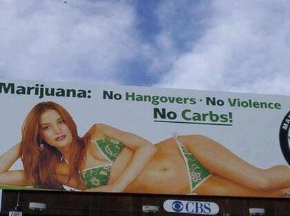 Marijuana. No hangovers, no violence, no carbs