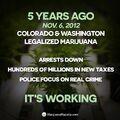 5 years ago, November 6, 2012, Colorado and Washington legalized marijuana.jpg