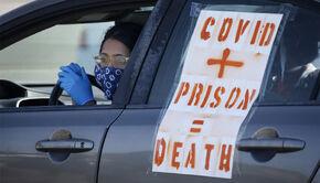 Covid plus Prison equals Death
