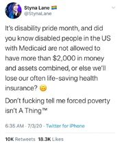July is disability pride month